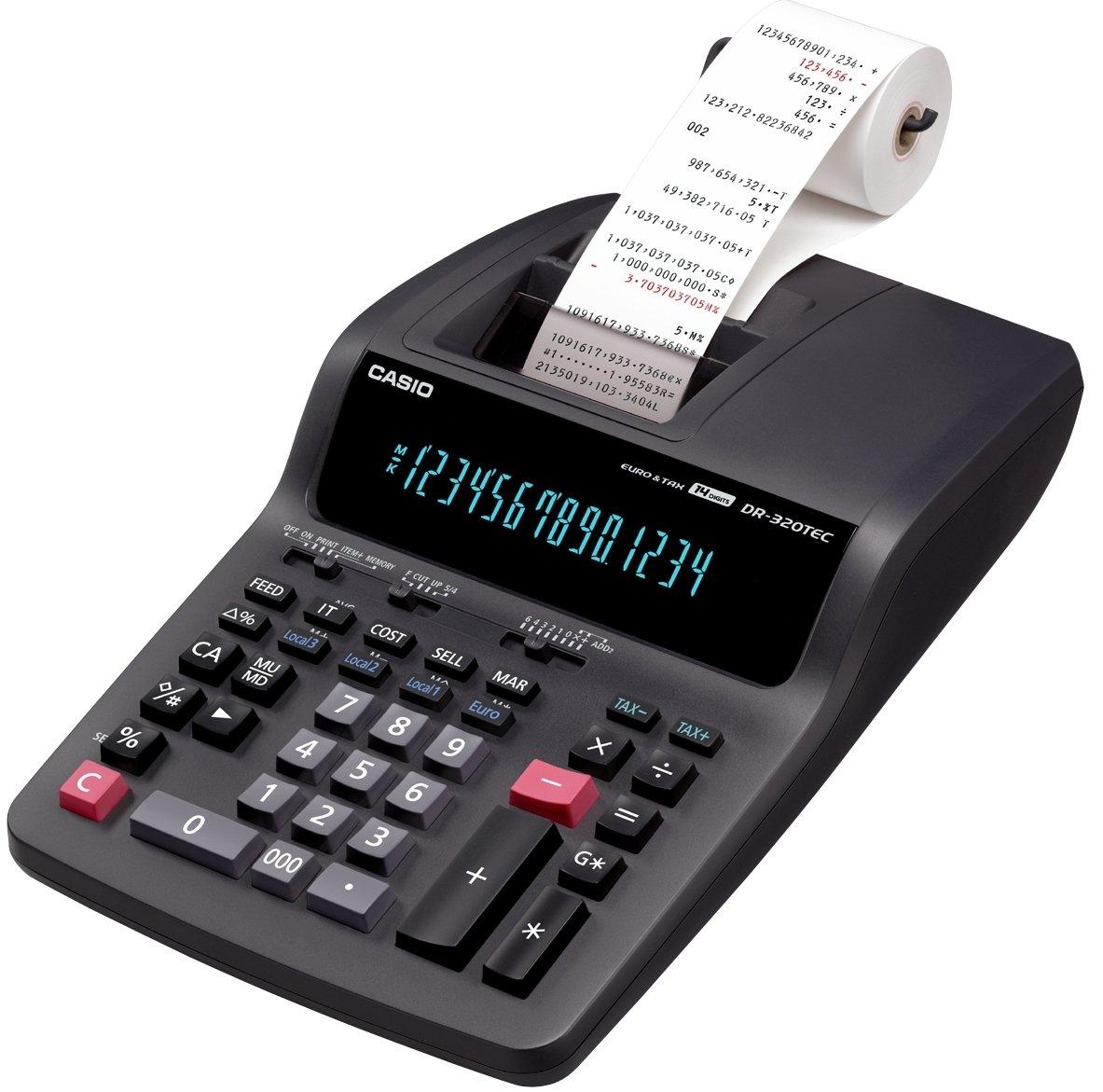 Casio Dr 320tec Heavy Duty Printing Calculator Office Colorful Sl 310uc Orange Products