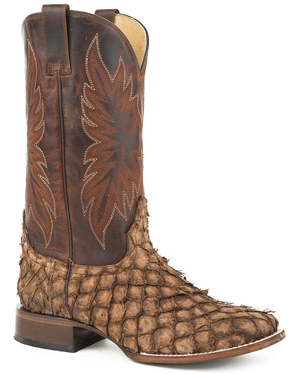 purchase cheap good quality factory authentic Amazon.com | Stetson Men's Predator Pirarucu Fish Boot ...