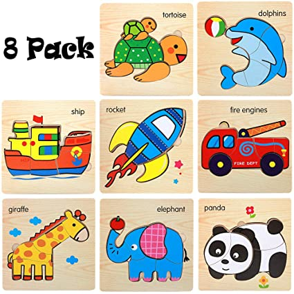 Amazoncom 2 5 Year Old Children Wooden Puzzle Jigsaw Puzzle