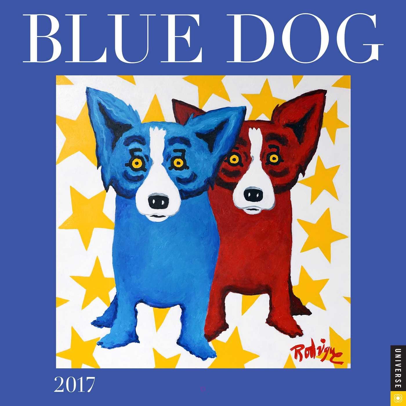 Blue Dog 2017 Wall Calendar: George Rodrigue: 9780789331618: Amazon.com:  Books