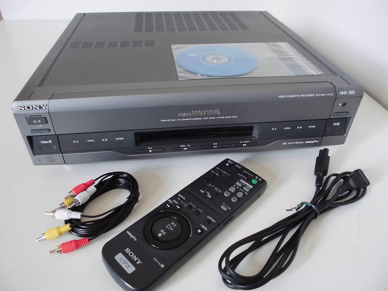 SONY WV-BW1 Hi8/VHS ビデオデッキ (premium vintage) B003TZNIN4