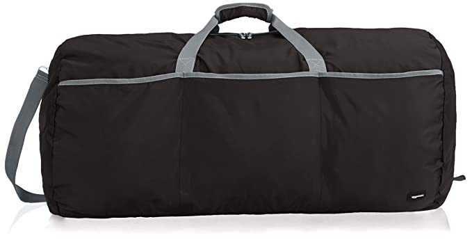 Amazon.com | AmazonBasics Large Duffel Bag, Black | Travel Duffels
