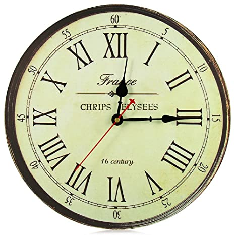 Amazoncom Large Wall Clock New Horloge Murale Quality European