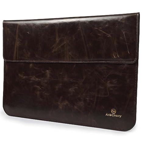 #DoYourMobile© Funda para Ordenador portátil Laptop Notebook 33.6 cm 12 pulgadas /marron oscuro