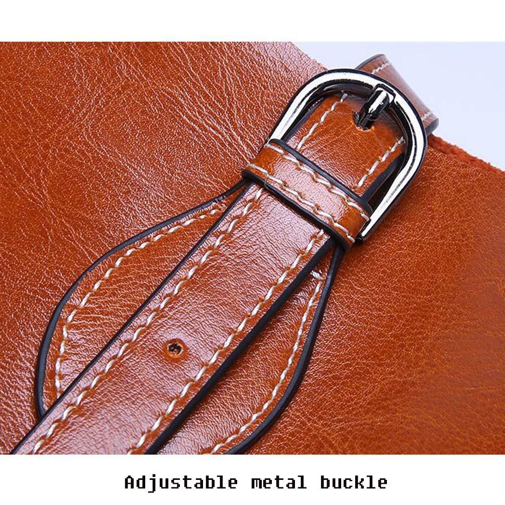 YANJINGHONG Womens Shoulder Bags PU Leather Handbag Messenger Purse Pure Color Large Capacity Shoulder Bag-Classical Tote Bags
