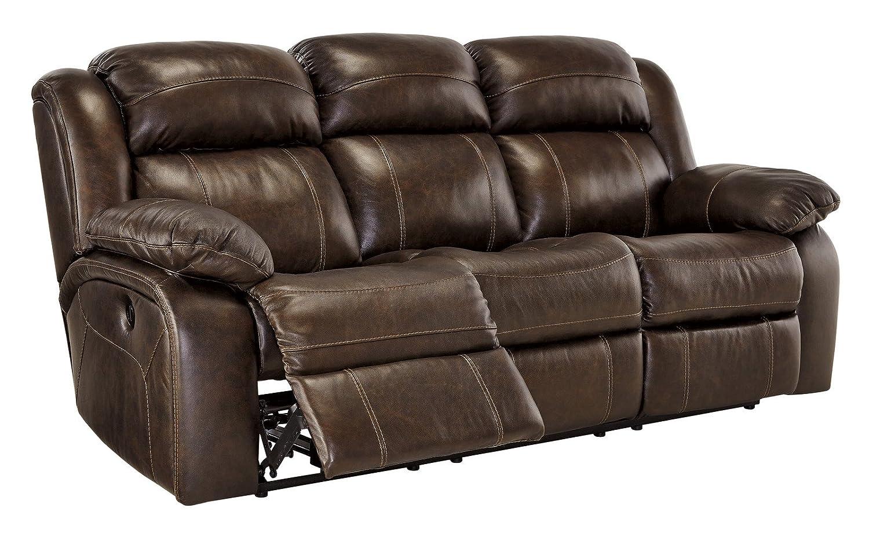 Tremendous Ashley Branton U7190187 86 Power Reclining Sofa With Top Home Interior And Landscaping Palasignezvosmurscom