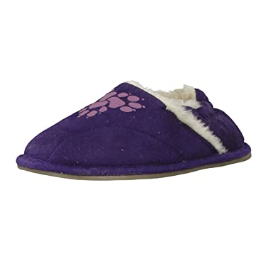best service new collection recognized brands Jack Wolfskin Men's Slippers Aubergine 28: Amazon.co.uk ...