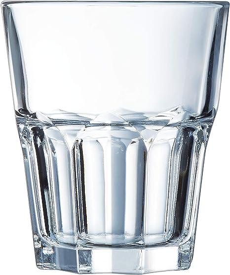 ARC J2612 Unidades 6 Vasos Cristal Templado graniti, 27 cl: Amazon.es: Hogar