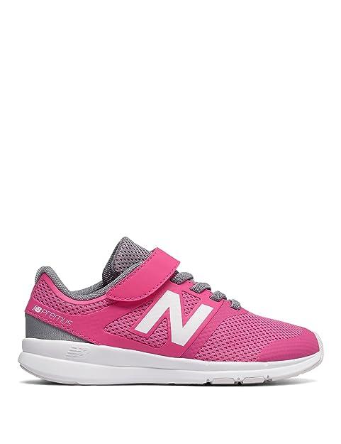 New Balance Zapatillas de Running de Material Sintético para Niña Rosa Rosa Talla Unica: Amazon.es: Zapatos y complementos