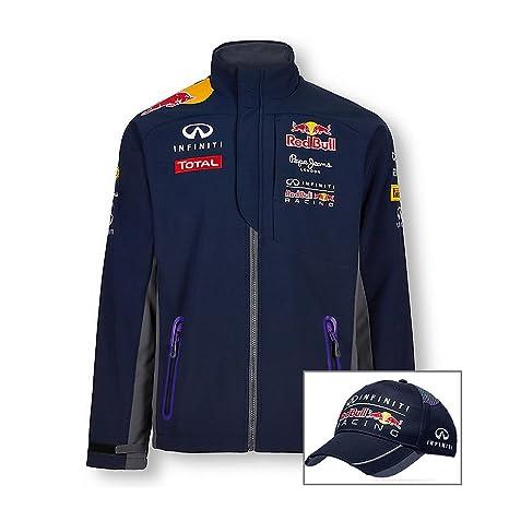Red Bull Racing Formula One 1 F1 para hombre softshell chaqueta y ...