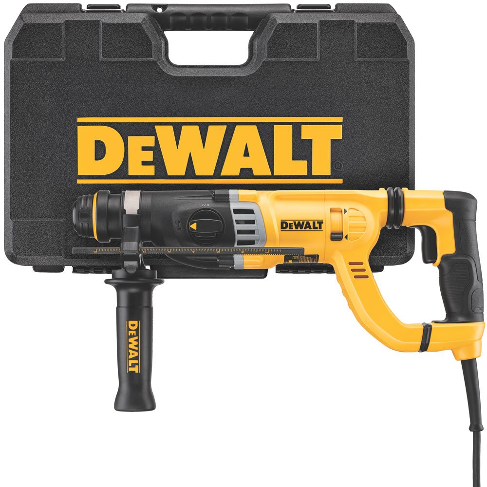 DEWALT D-Handle Rotary Hammer Drill