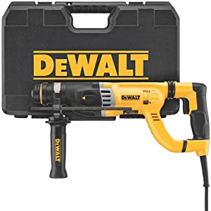 DEWALT D25263K D-Handle SDS Rotary Hammer with Shocks, 1-1/8""