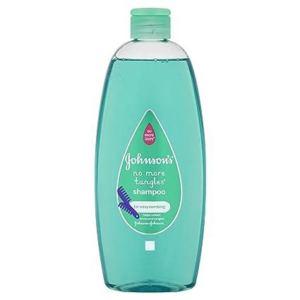 Johnson & Johnson 500 ml No más enredos Baby Shampoo