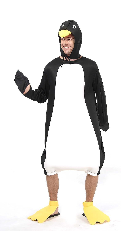 Disfraz humorístico de pingüino para adulto Talla única: Amazon.es ...