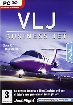 VLJ Business Jet Expansion Pack for FS 2004/FSX (PC DVD