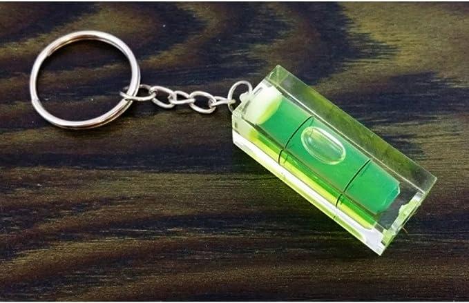 Mini Schlüsselanhänger Wasserwaage Schlüssel Anhänger Schlüsselbund Handwerker Baumarkt