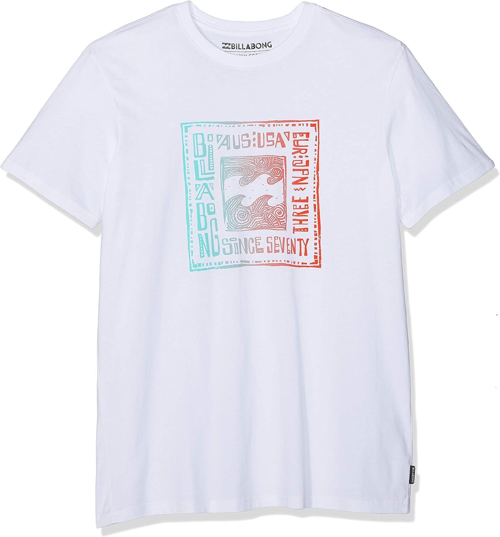 BILLABONG Boundaries SS Camiseta, Blanco (White 10), X-Small (Tamaño del Fabricante:XS) para Hombre: Amazon.es: Ropa y accesorios