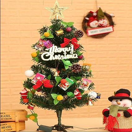 Amazon Com Guojia 2ft Desktop Christmas Tree Suit Diy Pre Lit