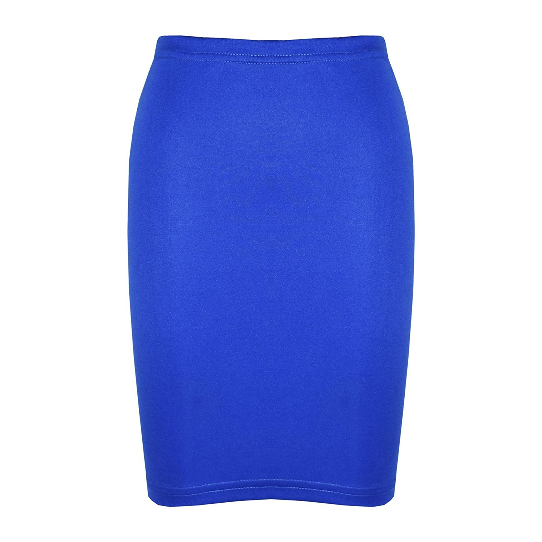 A2Z 4 Kids/® Girls Skirt Kids Plain Color School Fashion Dance Pencil Skirts New Age 5 6 7 8 9 10 11 12 13 Years