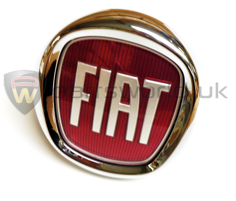 Logo originale Fiat Punto Evo/Bravo, 735579354, pulsante di apertura del bagagliaio
