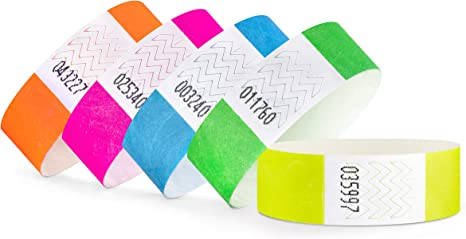 linie zwo®, Party Pack de 100 (5 x 20 unidades) pulseras de ...