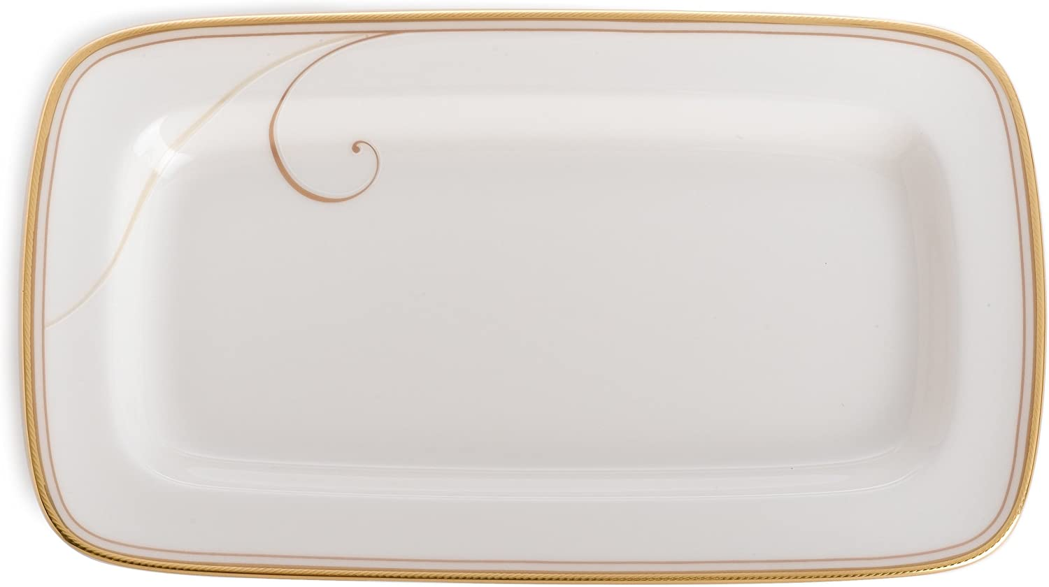 Noritake Golden Wave Butter Relish Tray Butter Dishes Butter Dishes
