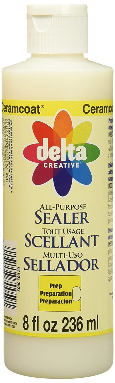 Delta Ceramcoat 8oz Sqz Ceram Coat 8 oz Sealer Plaid Enterprises Inc. DEL70802.5