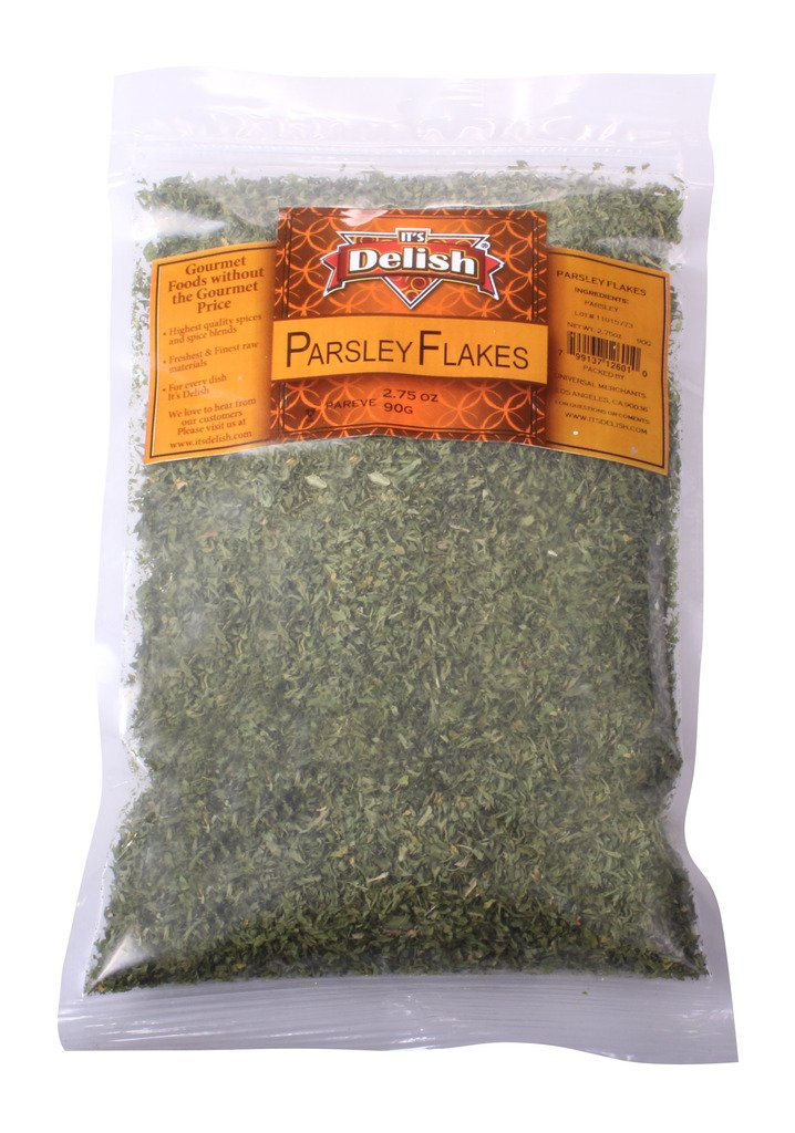Dried Parsley Flakes by Its Delish, 16 oz bag