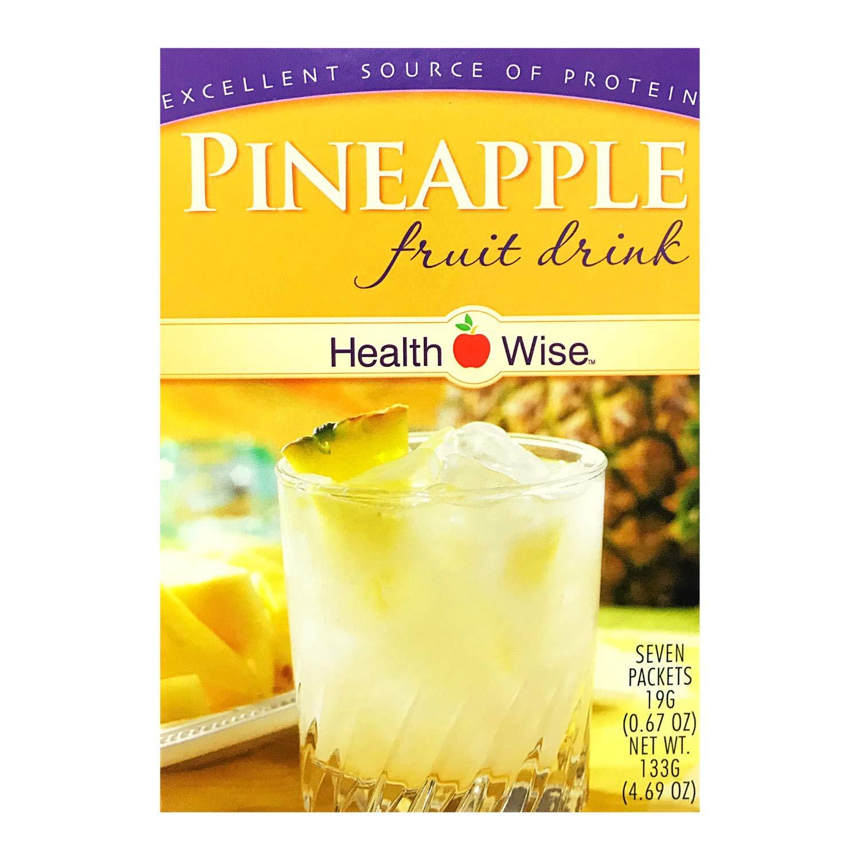 Healthwise Pineapple Fruit Drink, 4.69 oz.