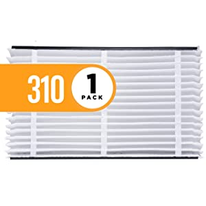 Aprilaire 310 Air Filter for Aprilaire Whole Home Air Purifiers, MERV 11 (Pack of 1)