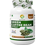 NutrineLife Pure Green Coffee Bean Extract Weight Loss Pill for Men and Women - 60 Veg Capsules, 800 mg (Pack of 1)