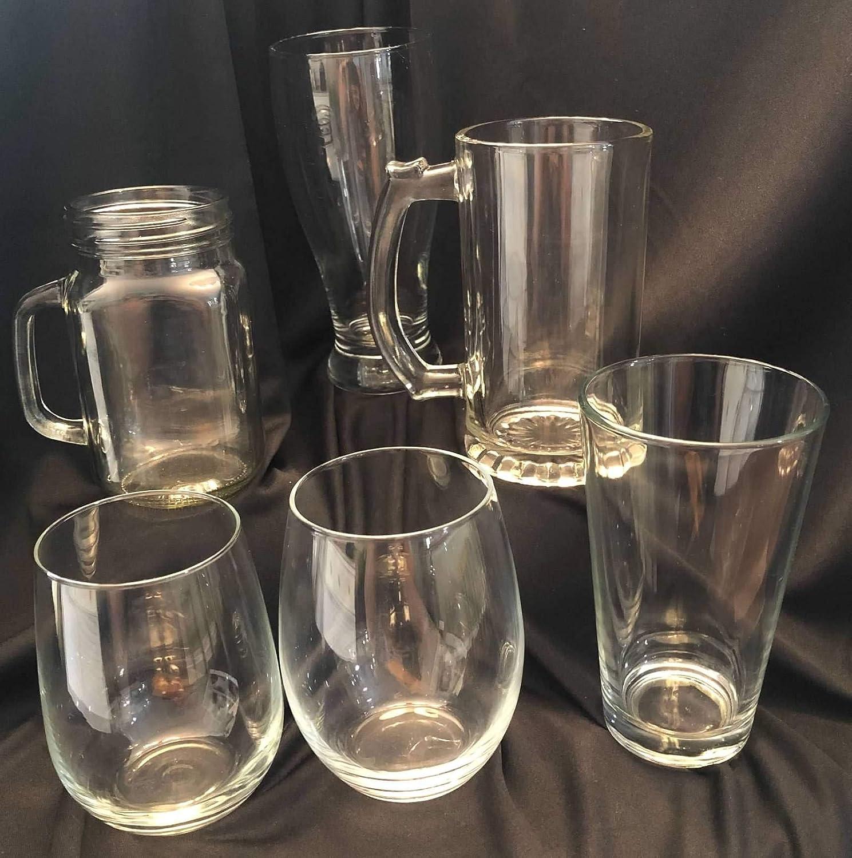 SLAINTE Celtic Irish Knot Cheers Beer Pint Glass Craft Engraved St Patricks Day Gaelic Shamrock