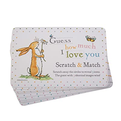 Guess How Much I Love you -Scratch Jeu de cartes, Paragraphe 10