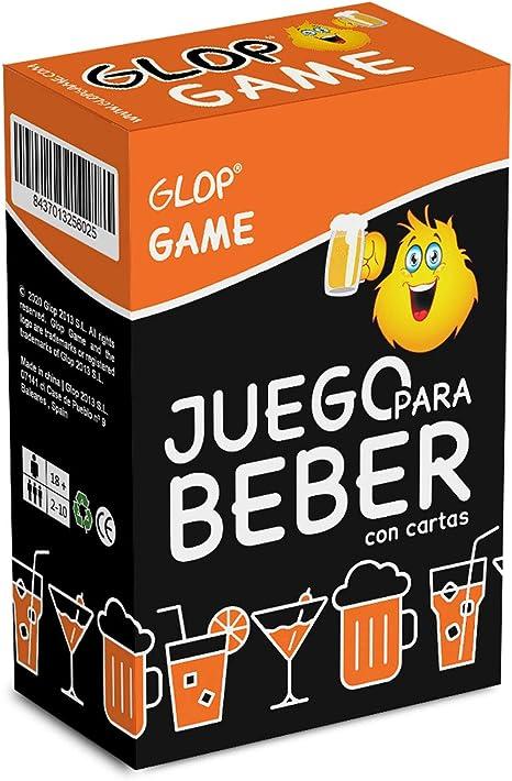 Glop Game - Juego para Beber - Juego de Mesa para Fiestas con Amigos - Juego de Cartas para Beber - 100 Cartas: GLOP GAME: Amazon.es: Juguetes y juegos