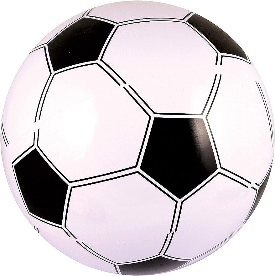 Partyrama - Pelota de fútbol hinchable (40 cm): Amazon.es ...