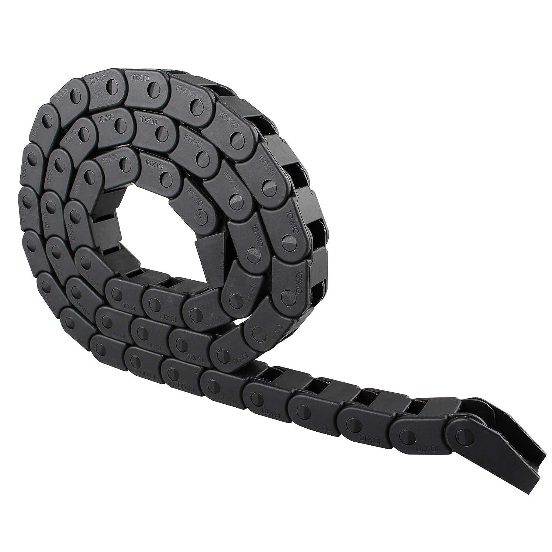 Cable de nailon de 1 m de longitud, 10 mm x 10 mm, cadena de ...