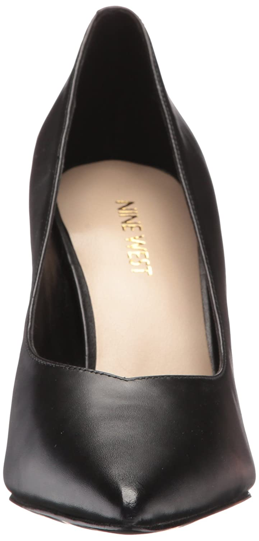 Nine West Women's Whistles Leather Pump B01MTXS4RY 8.5 B(M) US|Black Calf