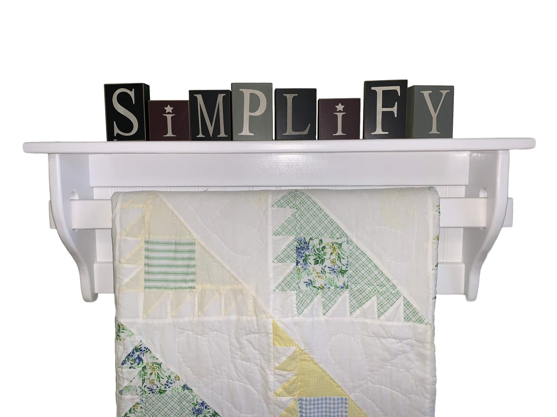 Wall Quilt Rack by Appletree Woodcrafts