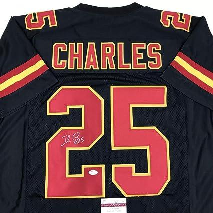 f41109cda8ffe Autographed Jamaal Charles Jersey - Black COA - JSA Certified - Autographed  NFL Jerseys