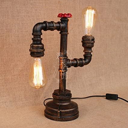 Amazon.com: Creative Vintage Table Lamp German Style Loft ...