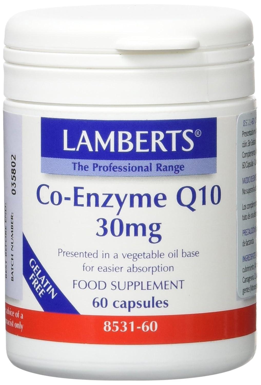 Lamberts Co Enzima Q10 30mg - 60 Cápsulas: Amazon.es: Salud ...