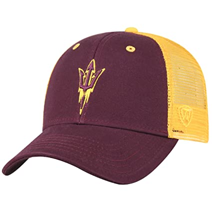 new products ada62 bb0d7 Top of the World Arizona State Sun Devils Adult NCAA Team Spirit Structured Fit  Meshback Hat