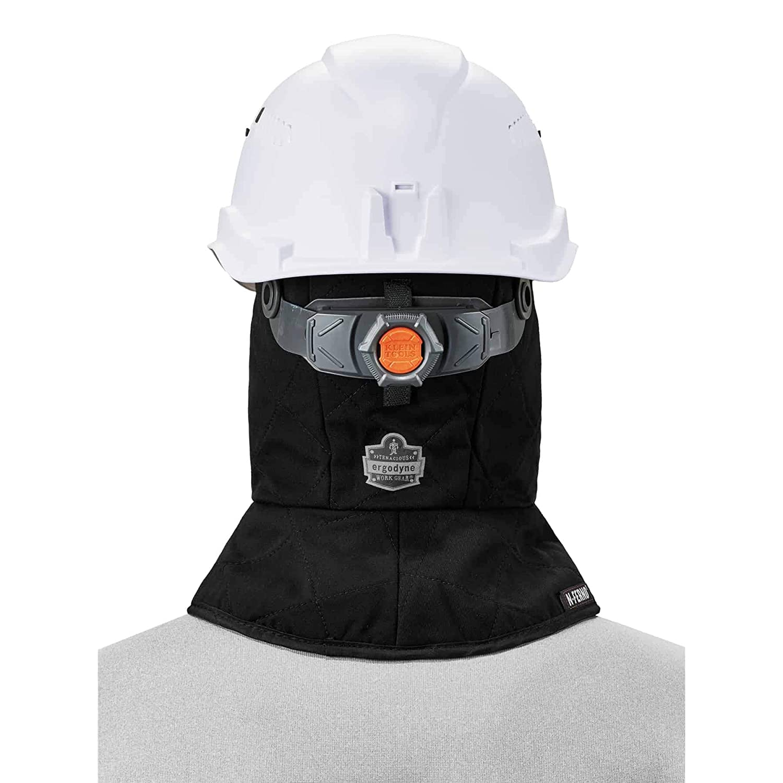 Ergodyne N-Ferno 6877 Thermal Hard Hat Winter Liner Black