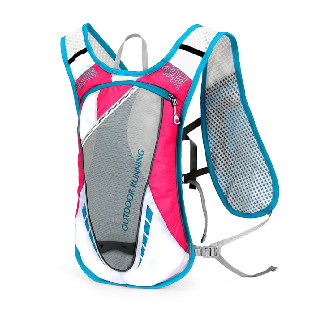 WINOMO Hydration Packバックパック12l Outdoors Mochilas Hydration Vest for Running (ピンク)   B078ZC7VGD