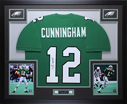 the latest e5601 f4f39 Randall Cunningham Autographed Eagles Jersey - Beautifully ...