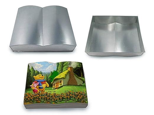 EURO TINS molde especial para tartas en forma de libro ...