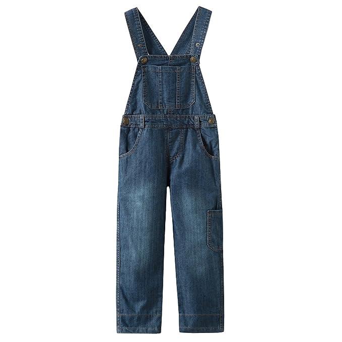 Grandwish Niños Mono Jeans Peto Vaquero Unisex 3 Años - 10 Años: Amazon.es: Ropa y accesorios