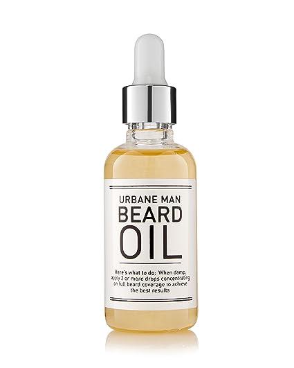 Aceite para barba - Aceite acondicionador de barba para hombre, combate el picor y las