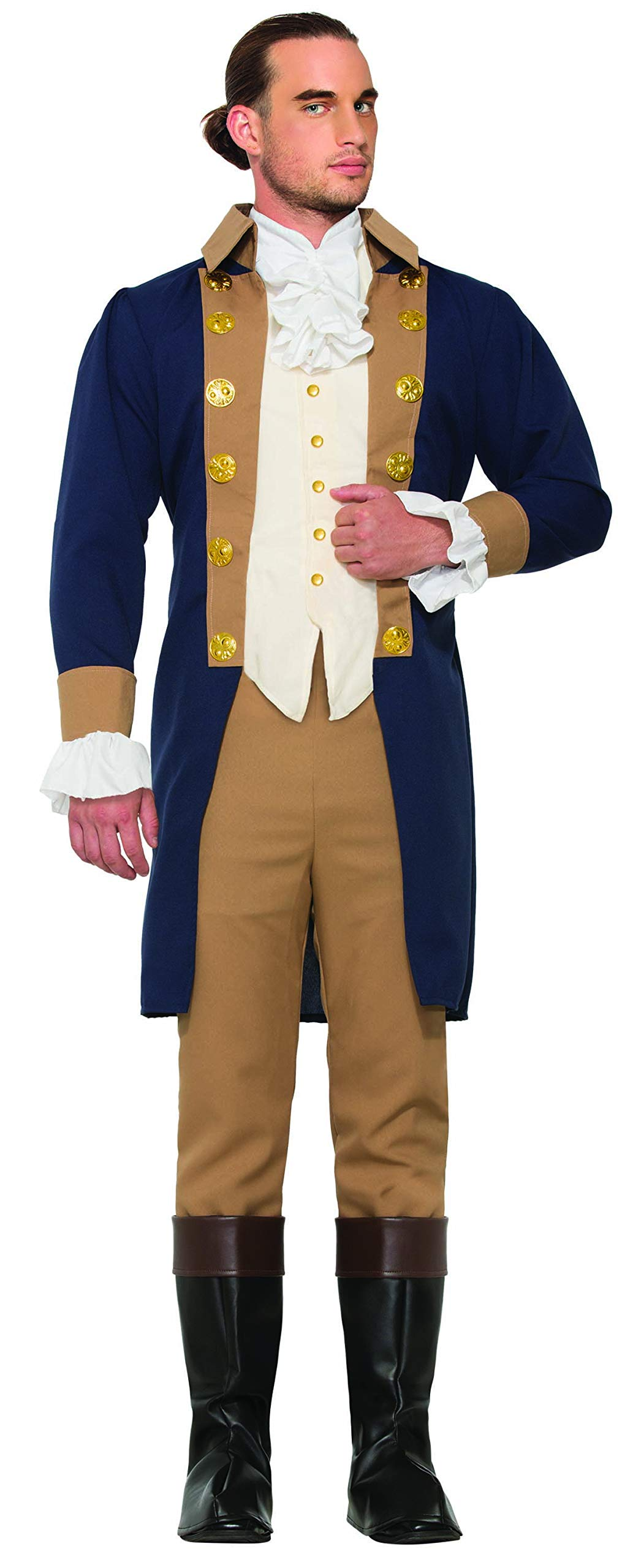 Forum Novelties Men's Colonial Officer Costume, As Shown, Standard by Forum Novelties