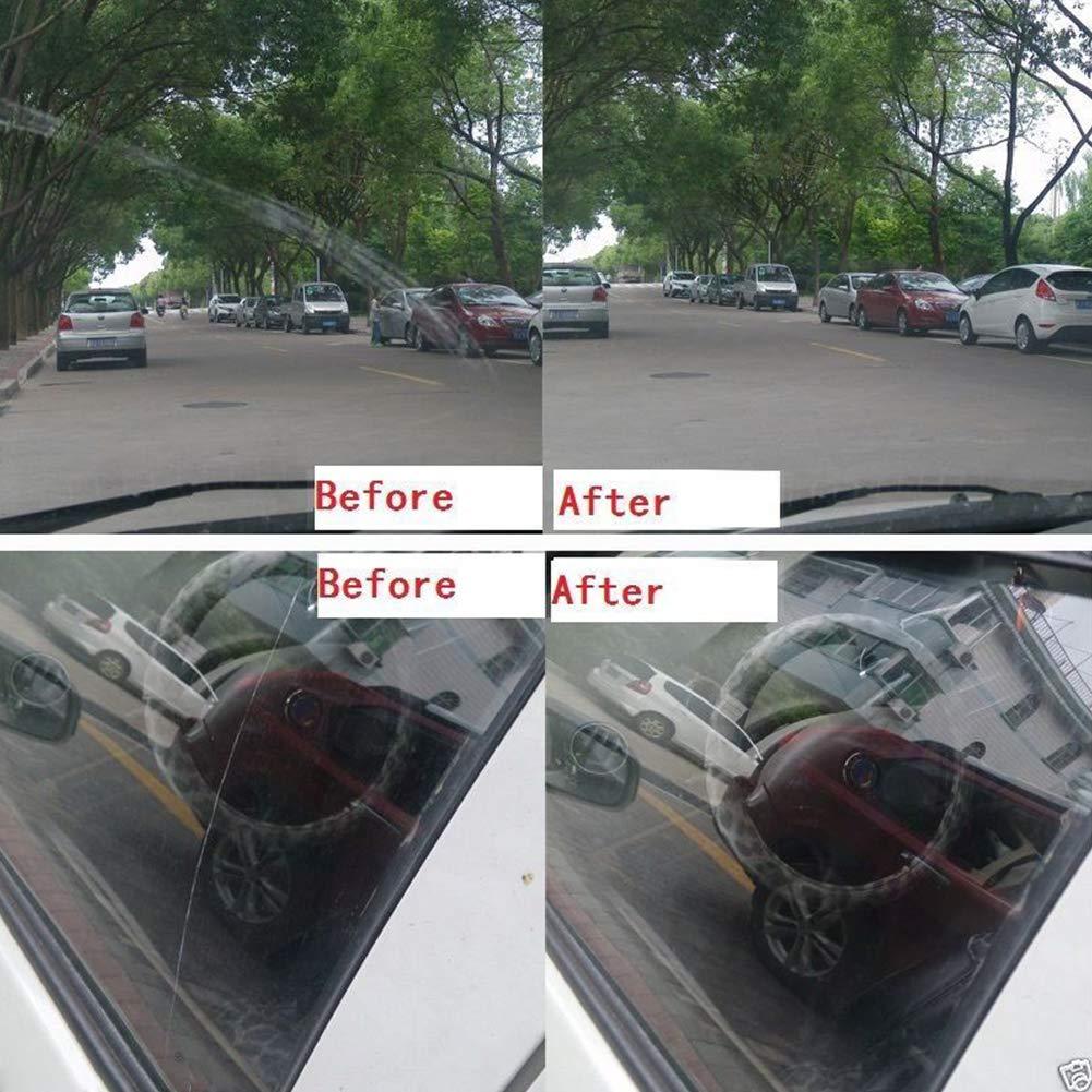 Erthree 34pcs/Set Glass Polishing Pads Kit Deep Scratch Remover ...